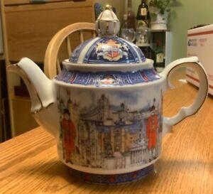 James Sadler Thameside Tea Pot 4739 London Heritage Collection