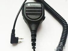 2 Pin Handheld Speaker MIC for MOTOROLA Radios GP300 GP88s GP2000