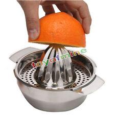 Stainless Steel Lemon Orange Lime Squeezer Juicer Hand Press Kitchen Bar Tool