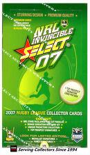 FACTORY BOX!! Select 2007 NRL INVINCIBLES TRADING CARD BOX (36 Packs)--RARE!