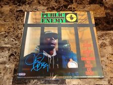 Public Enemy Signed Record It Takes A Nation Of Millions Chuck D Lenticular 3D