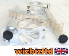 Manubri, manopole e leve in argento per moto Buell