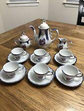 Rare Complete Lusterware Iridescent Vintage Tea-set