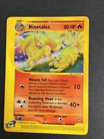 Pokemon - NINETALES 25/147 -  Aquapolis -  NonHolo - Rare - EXC