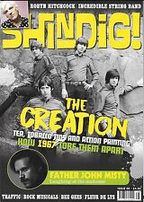 SHINDIG! ISSUE #66 APR 2017 CREATION INCREDIBLE STRING BAND BEE GEES TRAFFIC