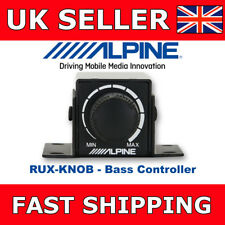 Alpine Bass Controller For PDX-V9, PDX-M12, PDX-M6, MRX-V70, MRX Amp BassControl