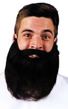 Morris Costumes Mustache Beard Black 8 Inches. CB44BK