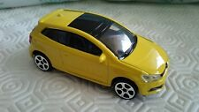 BBURAGO - VW VOLKSWAGEN POLO GTI    YELLOW   1/43 APROX   *NEW*