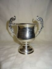 1929 Solid Sterling Silver Royal Air Force Trophy - Dolphin Handles - 317g