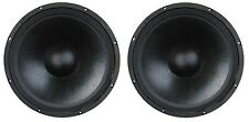 "NEW PAIR 18"" Inch Pro Audio DJ Sub Woofer PA Driver High Bass Output 8Ohm 1200W"