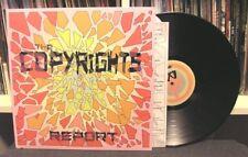 "The Copyrights ""Report"" LP OOP Menzingers Lawrence Arms Teenage Bottlerocket"