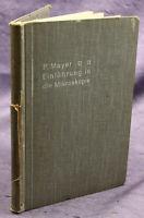 Mayer Einführung in die Mikroskopie 1914 Wissen Studium Physik Technik sf