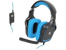 LOGITECH G430 Sonido Envolvente Gaming Headset USB (para PC & PS4) Nuevo-RRP £ 69.99