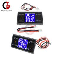DC 50/100V 5A/10A Digital LCD Voltmeter Wattmeter Voltage Current Power Detector