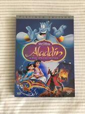 Aladdin (2-Disc DVD) Platinum Edition - Free USPS Shipping