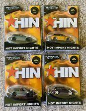 NEW HOT WHEELS 2004 HIN HOT IMPORT NIGHTS VW GOLF LOT OF 4 8+