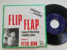 "PETER HENN Flip Flap BELGIUM 7"" VINYL 1973"