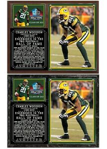 Charles Woodson Hall of Fame Photo Plaque Green Bay Packers