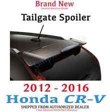 Genuine Factory OEM Honda CR-V Tailgate Spoiler in Body Color 2012 - 2016