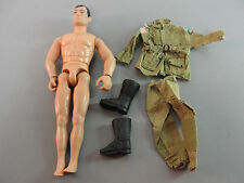 GI JOE 1994 US ARMY AIRBORNE BELTED COAT CARGO PANTS OUTFIT BOOTS UNIFORM LOT 5
