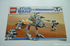 LEGO Notice Instruction / 8014 Clone Walker Battle Pack