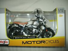 Miniature Moto BMW R Nine T Scrambler 1/12 Maisto IN Box