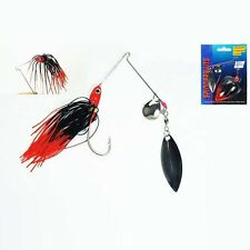 5 Pcs Bass Yellowbelly Cod  Spinner Bait Metal Fishing Lures 1/2oz Color Random