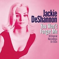 JACKIE DESHANNON - YOU WON'T FORGET ME  2 CD NEW+