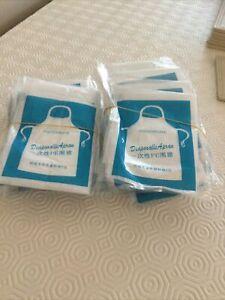 disposable plastic aprons