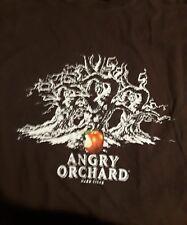 t-shirt Angry Orchard hard cider lrg