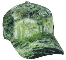 MOSSY OAK Camo Pattern OPTIONS Structured Blank Undecorated Hunting Hat Cap