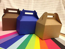 Gable boxes Favor Boxes wedding shower birthday party gift candy box bag 12Pcs