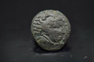 Alexander III AE18. Amphipolis 320 BC./N28A
