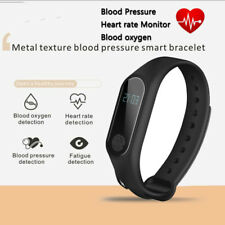 Smart Watch M2 Bluetooth Heart Rate Monitor Blood Oxygen for Android IOS iPhone Black
