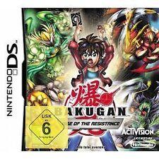Nintendo DS DSI Lite Spiel Bakugan Battle Brawlers: Aufstieg des Widerstands NEU