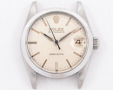 Vintage 1967 Rolex Stainless Steel Oysterdate Ref. 6466 w/ Silver Dial!