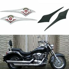 Chrome Gas Tank Emblem Badge For Kawasaki Vulcan VN500 VN800 VN900 VN1500 VN1600