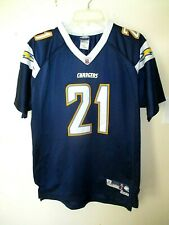 San Diego CHARGERS LaDainian TOMLINSON FOOTBALL JERSEY Sewn! YOUTH XL+2 18/20