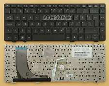 NEW For HP ProBook 6360b Keyboard UK WITH Frame V119030B 90.4KT07.S0U