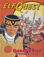 "ELFQUEST Graphic Novel vol 4 ""Quest's End"" HC 1988  scarce SIGNED!"