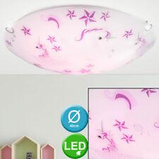 LED Einhorn Decken Lampe Rosa Kinder Zimmer Beleuchtung Mädchen Glas Leuchte NEU