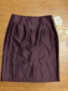 Vintage Jessica Mcclintock Bridal Purple Lined Skirt Size 14 New With Tags