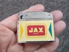 "RARE 1950s-60s ""JAX"" BEER Cigarette LIGHTER....COOL!"