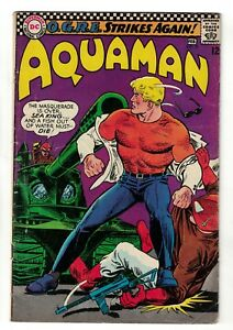 DC Comics AQUAMAN 31 SILVER AGE league VGF 5.0  nick cardy bob haney