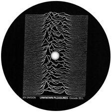 Joy Division Unknown Pleasures record label vinyl sticker