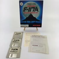 """Nighthawk F-117A Stealth Fighter 2.0 1991 PC Big Box 3.5"""" Disks Vintage Gaming"""