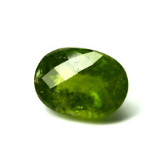 VERY LARGE 39.74ct PERIDOT Saturated Green Jardin Good Checkerboard Cut Pakistan