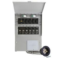 NEW RELIANCE CONTROLS 306A PRO TRAN 2 6 CIRCUIT POWER TRANSFER SWITCH KIT 30 AMP