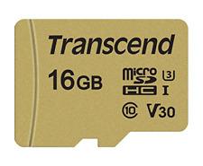 Transcend 16 GB UHS-I U3 MLC MicroSD Card with Adapter