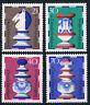 742-745 ** BRD 1972, Wohlfahrt Schachfiguren